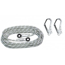 Anchor Rope AC100 Ø14mm 10m with two carabines