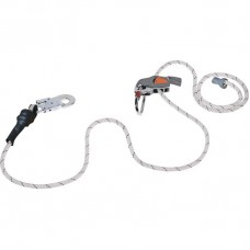 DELTAPLUS set: Sliding Fall Arrester + Stopper on Rope + Rope Adjuster + Carabiner