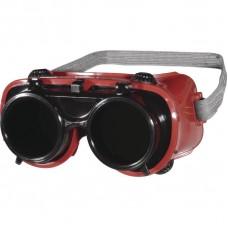 Brilles metinātājiem ar paceļamo filtru TOBA