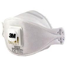 3M respirators ar vārstu FFP2 9322