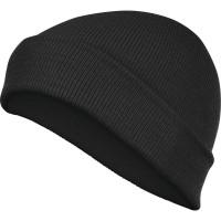 DELTAPLUS ziemas adīta cepure JURA BLACK