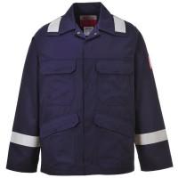 Огнеупорная антистатическая куртка с отражателями