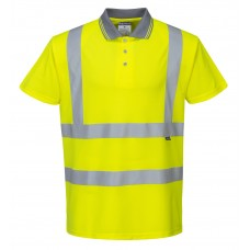 High visibility polo shirt