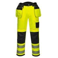 High visibility trousers LIBERTY YELLOW