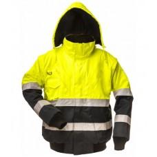 Зимняя сигнальная куртка 3 in 1