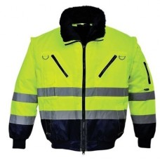 High visibility pilot jacket 3 in 1 SKANDINAVIA