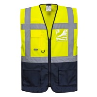 Executive Vest with Reflective Strips