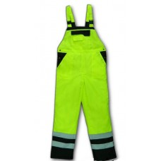 High visibility winter trousers NEON