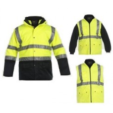 "High Visibility Parka ""NEON"" 4 in 1"