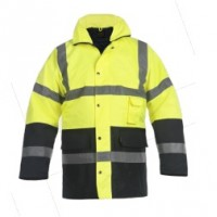 High Visibility Parka  NEON