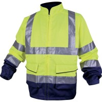 DELTAPLUS HIGH VISIBILITY WORKING JACKET