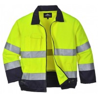 High Visibility Working Jacket YELLOW