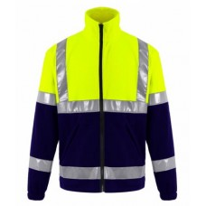 High Visibility Fleece Jacket NEON