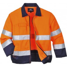 High Visibility Working Jacket ORANGE