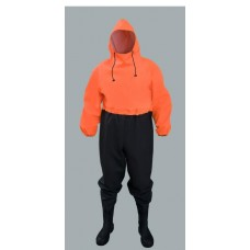 PROS waterproof overall 304/K with PVC safety boots S5 type