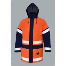 PROS waterproof, antistatic, flame retardant, high visibility jacket 500/А