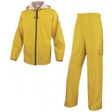 DELTAPLUS Rain Suit YELLOW (jacket+trousers)