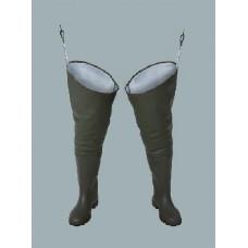 Waterproof thigh waders