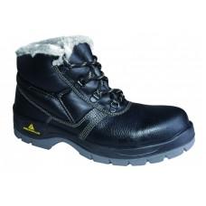 "Fur lined split leather winter boots ""JUMPER"" S3 SRC"