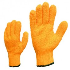 PVC web coated knitted gloves
