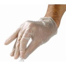 Перчатки одноразового использования из винила (100шт.)