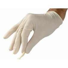 Latex disposable gloves (100pcs.)