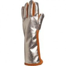 DELTAPLUS heat resistant gloves with aluminised back
