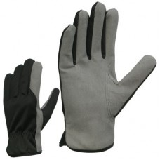 Synthetic Leather and Nylon Gloves