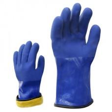 Утепленные PVC перчатки
