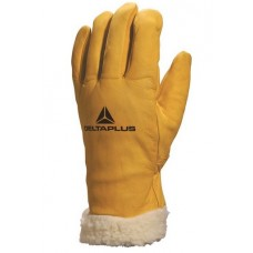 DELTAPLUS cowhide grain lined gloves (30cm)