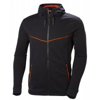 HELLY HANSEN CHELSEA EVOLUTION Zip Hoodie BLACK