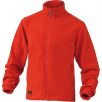 DELTAPLUS Polar Fleece Jacket  VERNON RED